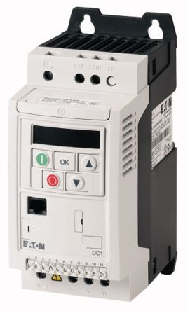 Inverter Drive, 1-Phase In 0.75 kW, 230 V ac with EMC Filter, 7 A DC1, IP20 product photo