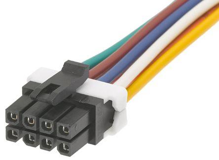 4x MX-43025-1000 Stecker Leitung-Platte weiblich Micro-Fit 3.0 3mm PIN 10 MOLEX