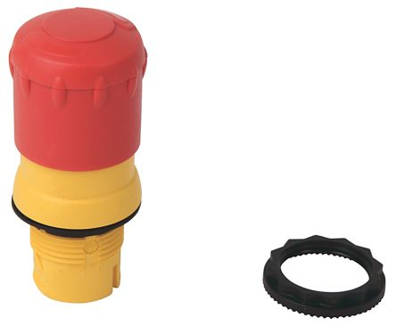Bulletin, Red, Turn to Release 30mm Round Head Emergency Button product photo