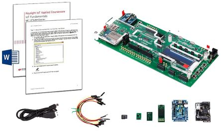 U3801A Oscilloscope Software IoT Fundamentals Applied Courseware with Training Kit product photo