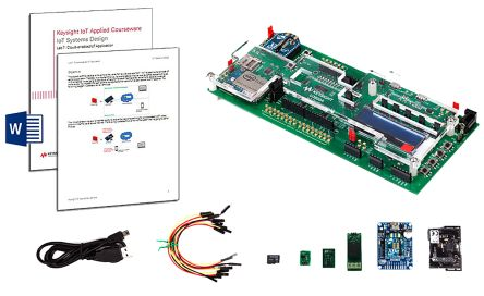 U3803A Oscilloscope Software IoT Fundamentals Applied Courseware with Training Kit product photo