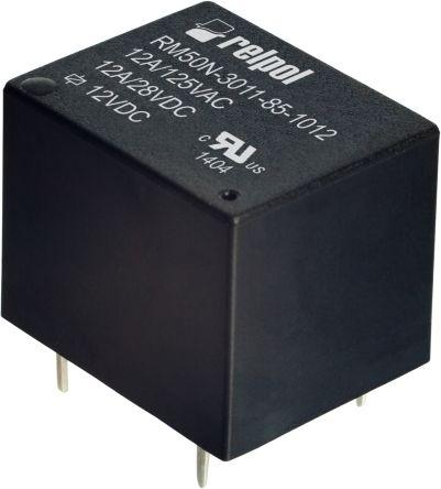 RELPOL SPDT in miniatura PCB Relè 12 V 5 A RM32N-3011-85-1012 RELPOL