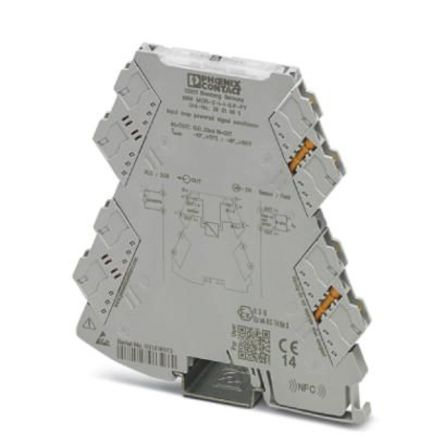 Phoenix Contact Loop-Powered Isolator Signal Conditioner, ATEX, 0 → 20 mA, 4 → 20 mA Input