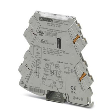 Phoenix Contact MINI MCR, Frequency Transducer Signal Conditioner, 0 → 12 V, 0 → 24 mA Input