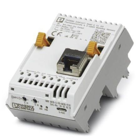 Phoenix Contact Mini Analogue Pro Modbus/TCP Communication Gateway Signal Conditioner, 4 → 20 mA Input