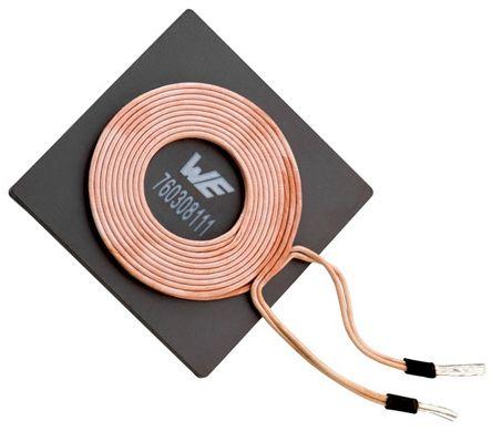 Wurth Elektronik Wireless Charging Receiver Coil, Ferrite, 1.5