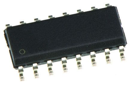 Analog Devices ADuM150N1BRZ PCB SMT, 5-channel Digital Isolator 150MBps, 3 kVrms SOIC, 16-Pin