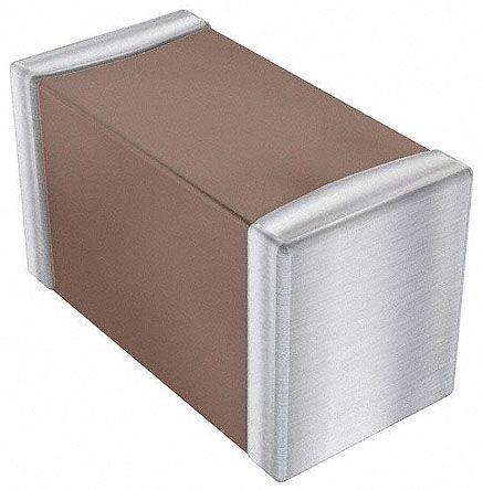 AVX 0603 (1608M) 100nF Multilayer Ceramic Capacitor MLCC 25V dc ±10% SMD 06033C104KAT2A