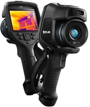 FLIR E85 Thermal Imaging Camera, Temp Range: -20 → +120 °C. 0 → +650 °C. 300 → 1200 °C