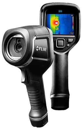 FLIR E6 WiFi Thermal Imaging Camera, Temp Range: -20 → +250 °C 160 x 120pixel RS Cal