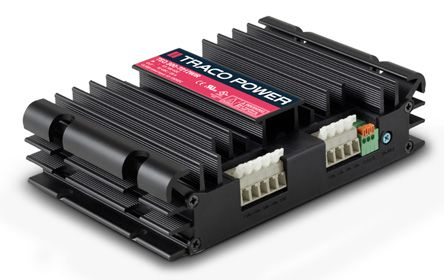 TRACOPOWER TEQ 300WIR 300W Isolated DC-DC Converter Chassis Mount, Voltage in 43 → 160 V dc, Voltage out 24V dc