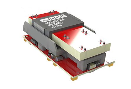 Murata Power Solutions MGJ6 1.5 (Output 1) W, 1.5 (Output 2) W, 3 (Output 3) W Isolated DC-DC Converter Surface Mount