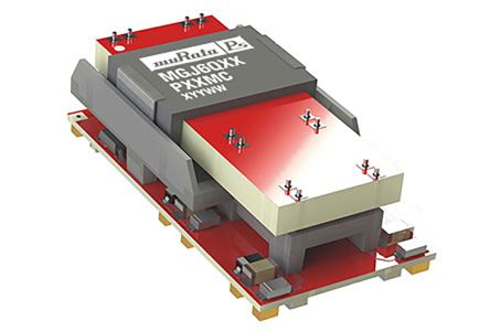 Murata Power Solutions MGJ6 1 (Output 4) W, 3 (Output 1) W, 3 (Output 2) W, 3 (Output 3) W Isolated DC-DC Converter