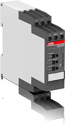 ABB CM-ENS Series Liquid Level Relay DIN Rail Mount, 110 → 130 V ac, 220 → 240 V ac 1 Voltage Input
