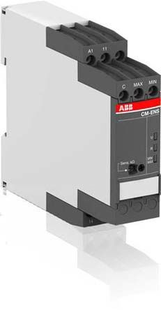 ABB CM-ENS Series Liquid Level Relay DIN Rail Mount, 24 → 240 V ac/dc 1 Voltage Input SPDT Relay