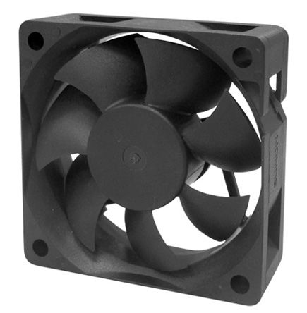 MF Series Axial Fan, 60 x 60 x 20mm, 23cfm, 1.32W, 24 V dc product photo