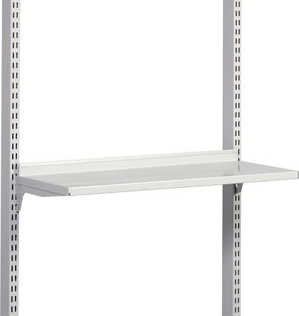 Treston Grey Steel Shelf, 50kg Load x 400mm product photo