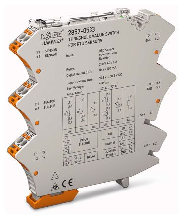 Wago Threshold Value Switch Signal Conditioner,