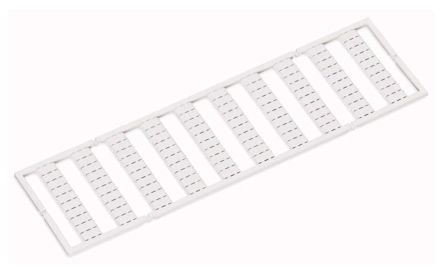 Relay Label Marker for use with 788, 857, 858, Width 5 → 17.5 mm Terminal Block