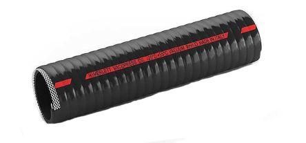 Merlett Plastics PVC Flexible Tube, Black, 28mm External Diameter, 10m Long  Reinforced, 70mm Bend Radius