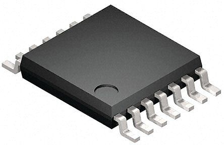 ON Semiconductor FAN6291QFMTCX, Dual USB Power Switch, Secondary Side, 0 V min. 14-Pin, TSSOP