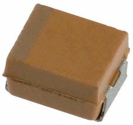 AVX 10μF 16V dc Tantalum Capacitor Electrolytic Solid ±10% Tolerance TAJ Series