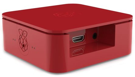 Quattro Case with Vesa - Red