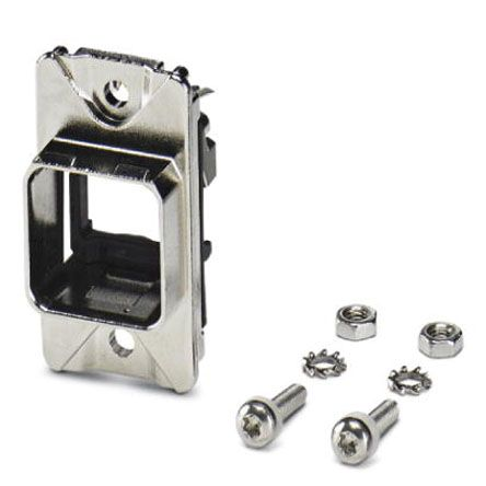 CUCSeries, RJ45 Panel Mounting Frame for use with RJ Connector product photo