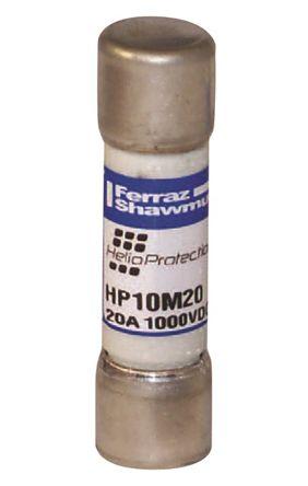 Mersen 10A Glass Melamine Cartridge Fuse, 10 x 38mm