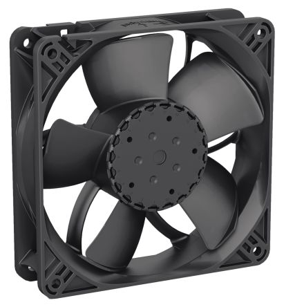 ebm-papst Axial Fan, 119 x 119 x 32mm, 285m³/h, 24 V dc (4314 Series)