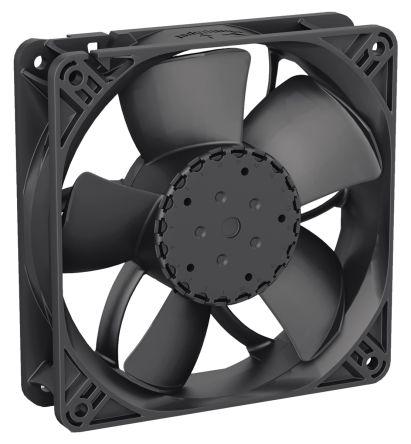 DC fan,PWM tacho,119x32mm 220cu.m/h 48V
