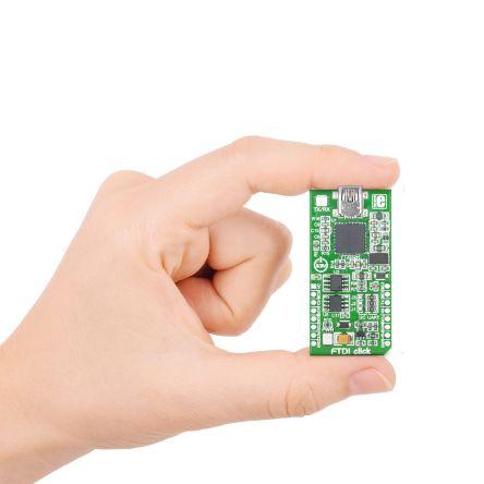 MikroElektronika, FTDI click USB 2 0 to I2C, USB 2 0 to SPI Serial, USB 2 0  to UART Development Board for FT2232H for