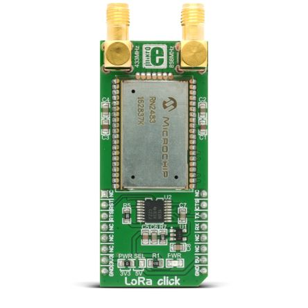 MikroElektronika LoRa Click LoRa mikroBus Click Board for RN2483