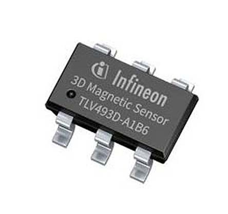Infineon TLV493D Series Current Sensor, 3.7 mA nominal current