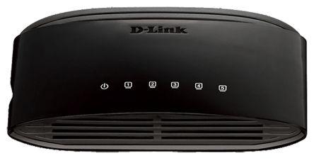 D-Link, 5 port Unmanaged Switch, Desktop   D-Link   RS Components Israel