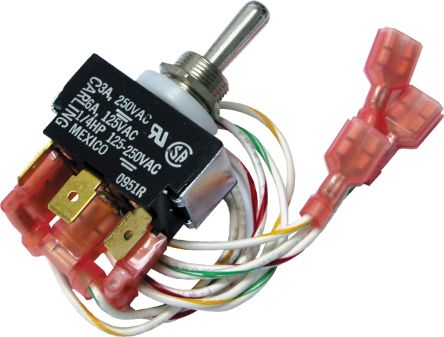 RS PRO Switch Kit for use with RSAC Series Inverter Drives