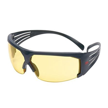 3M 600 Safety Glasses Anti-Mist, Amber
