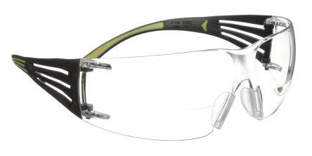 78626296c418 SF425AF-EU | 3M SecureFit 400 Reader, Clear Safety Glasses, Anti ...