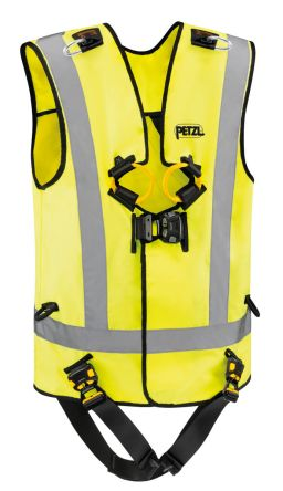 Front, Rear Attachment reflective Hi-Vis Fall Arrest Harnesses & Vest product photo