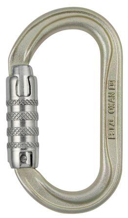 Petzl M72A TL Triact Lock Carabiner Steel