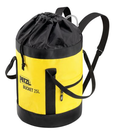 Petzl S41AY 025 Polyester, Polyurethane Yellow Safety Equipment Bag