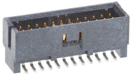 Molex Slim-Grid 200989, 1.27mm Pitch, 12 Way, 2 Row Shrouded, Vertical PCB Header, Surface Mount