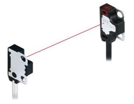 Panasonic Through Beam (Emitter and Receiver) Photoelectric Sensor 200 mm Detection Range PNP IP67 Block Style