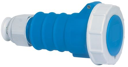 Bals IP67 Blue Cable Mount 2P+E Industrial Power, Rated At 16A, 230 V