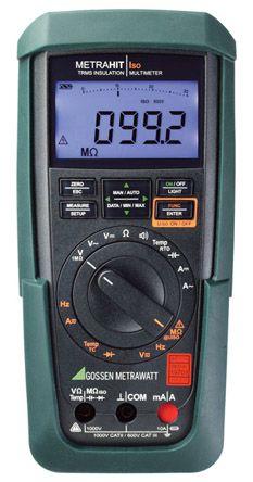 Gossen Metrawatt M246B Handheld Digital Multimeter, 10A ac 1000V ac 10A dc 1000V dc