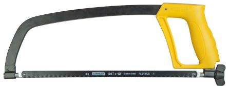 Stanley FatMax 300 mm Hacksaw With Steel Blade and Moulded Handle, 24 TPI