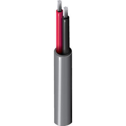 Belden Chrome 9156 Installation Cable, Unshielded Flame Retardant 8.46mm OD 18 AWG 300 V ac 152m
