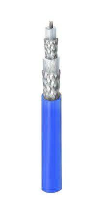Belden Blue Twinaxial Cable 6.05mm OD Polyvinyl Chloride PVC,