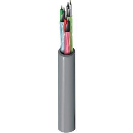 Belden Chrome 9873 Installation Cable, Aluminium/Polyester Foil Flame Retardant 8.66mm OD 20 AWG 300 V ac 152m