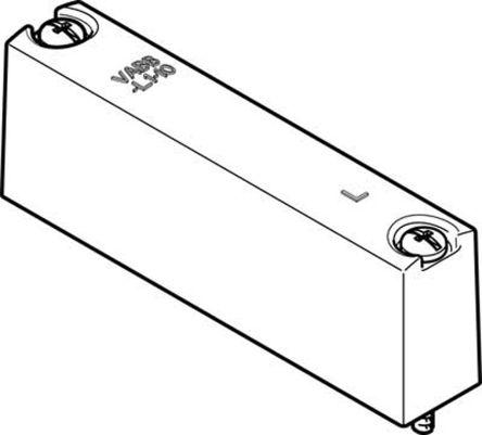 VABB-L1-10-W Valve Blanking Plate